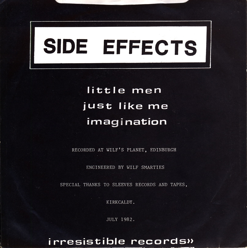 Side effects back cover